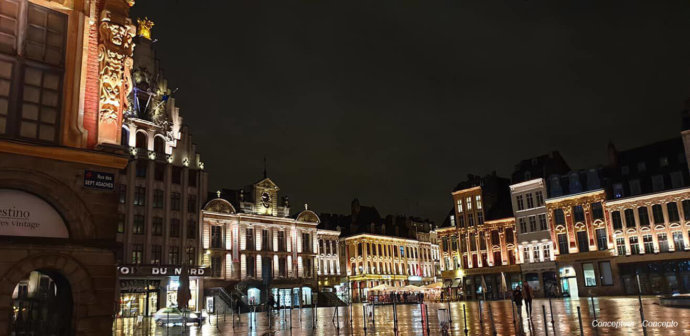 Place Beauregard à Lille