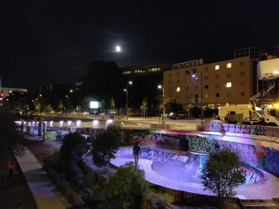Skatepark à Nantes